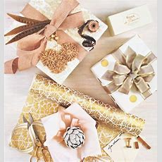 Beautiful Holiday Gift Wrap Ideas And Embellishments