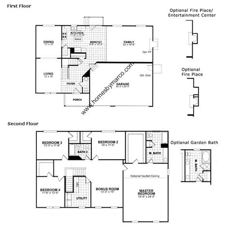 yorkshire model   amber fields subdivision  aurora illinois homes  marco