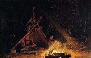 Camp Fire — Winslow Homer – Biblioklept