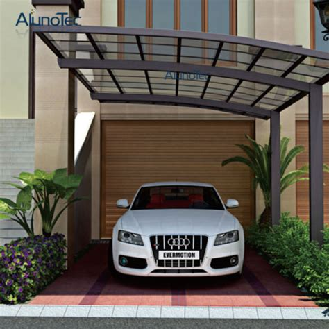 china   design aluminum carport car shelter  polycarbonate sheet china carport