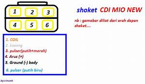 Satu Hati Motor  Petunjuk Skema Socket Cdi