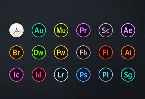 adobe vector cloud icons images adobe creative suite