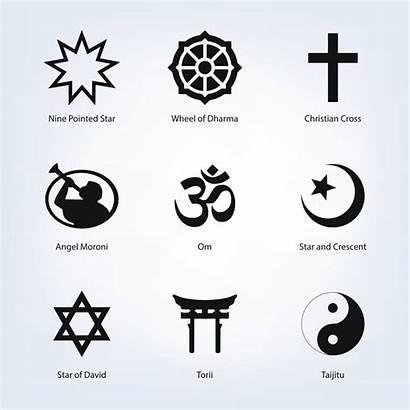 Symbols Religious Vector Vectors Ai