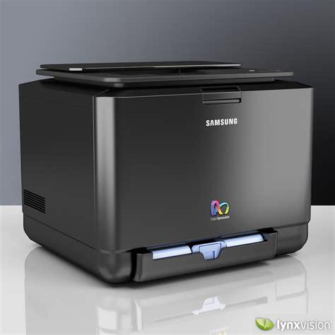color laser samsung color laser printer 3d model max obj fbx