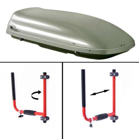 coffre de toit cargo support mural eckla cargo pour coffre de toit accessoires de stockage padl
