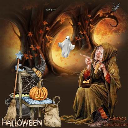 Halloween Witch Creepy Dreamies Witches Happy Ak0