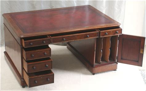 partners desk for sale antique mahogany partners desk ref 1007 for sale