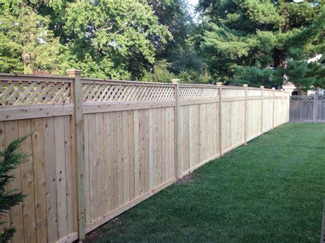 fence wood fences lattice cedar county installation board fencing solid link panels install vinyl yard custom advantages supplies harford nj