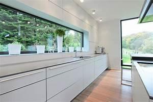 Moderne Küchen Ideen : sehr langes sideboard mit viel arbeitsfl che interior einrichtung dekoration k che ~ Sanjose-hotels-ca.com Haus und Dekorationen