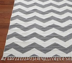 Chevron rug gray modern rugs by pottery barn kids for Chevron rug