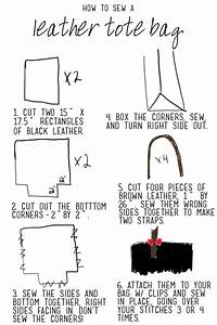Diy Leather Tote Bag