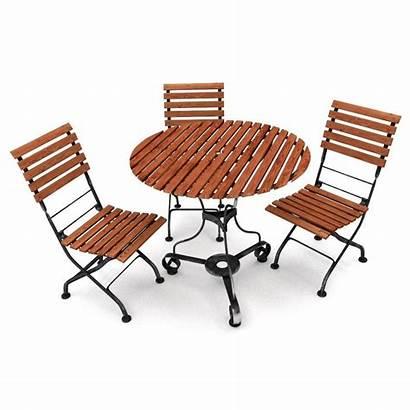 Furniture Outdoor Garden 3d Transparent Models Clipart
