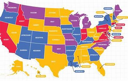 States United State Word Google Map Today