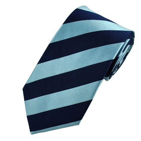 light blue tie navy blue light blue striped silk tie from ties planet uk
