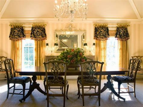 Beautiful Pottery Barn Dining Room Curtains