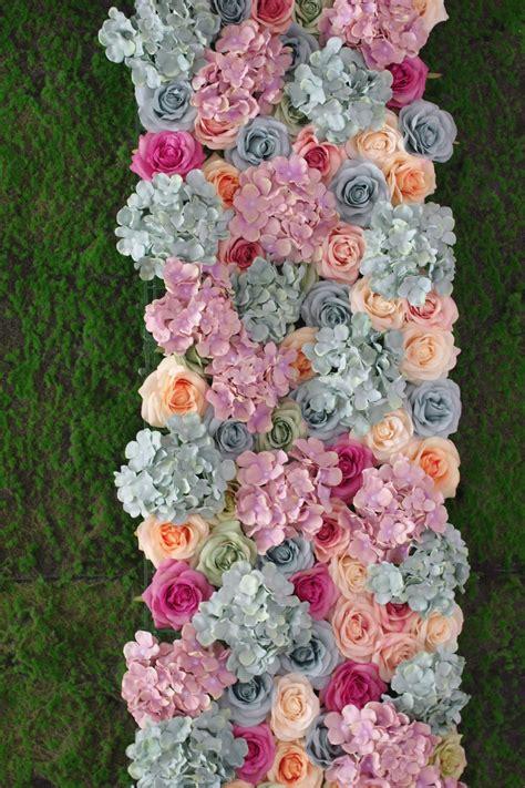 50*240cm flower wall panel in 2020 Flower wall Flower