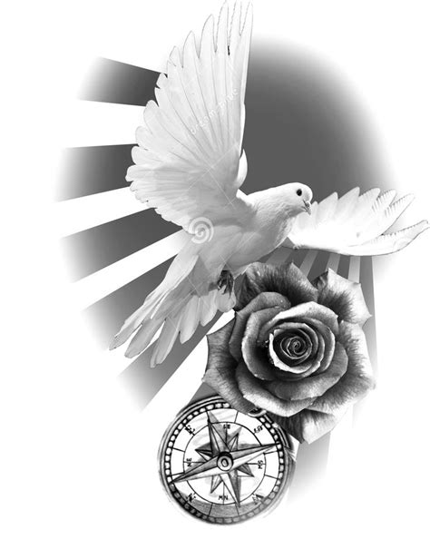 clock tattoos ideas  pinterest time piece tattoo clock  rose tattoo  pocket