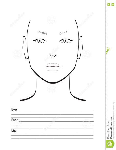 makeup template blank makeup artist charts mugeek vidalondon