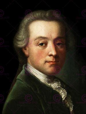 PAINTING PORTRAIT COMPOSER WOLFGANG AMADEUS MOZART POSTER ...