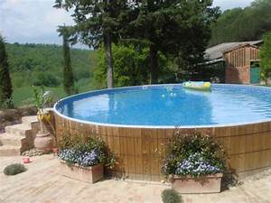 diy ground pool slide design decorating image mag beautiful above ground pool landscaping pictures - Diy Above Ground Pool Slide