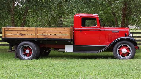 1936 International 1 12 Ton Pickup  T57  Chicago 2016
