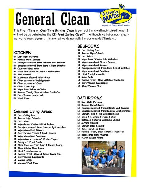 Calculate your servicecare plan today. Pinterest   Cleaning Checklist, House Cleaning Checklist ...