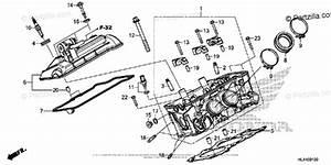 Honda Side By Side 2016 Oem Parts Diagram For Cylinder