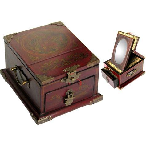 boite 224 bijoux avec miroir magasin du meuble asiatique
