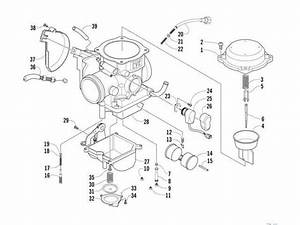 Arctic Cat 650 H1 Carburetor Parts Diagram