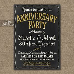 25 best ideas about anniversary invitations on pinterest With free printable 30th wedding anniversary invitations