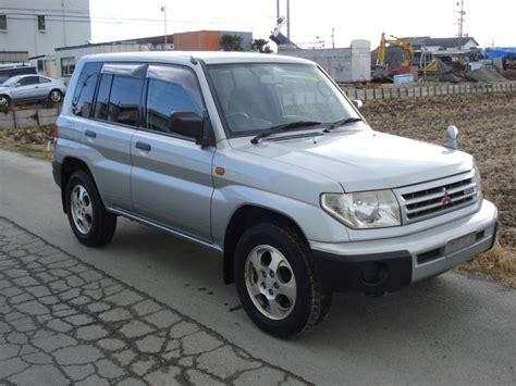 mitsubishi pajero io mitsubishi pajero io 1999 used for sale