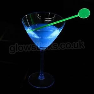 Neon Cocktail Stirrers UV Bar Ware