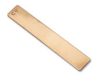 electrode copper strip