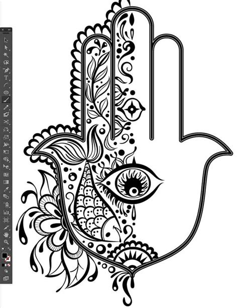 10+ images about Hamsa on Pinterest | Hamsa drawing, Hamsa hand tattoo and Hamsa art