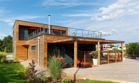 maison en bois booa maison bois la villa d architecte booa constructions faire construire sa maison