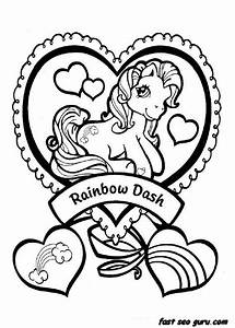 Print out my little pony Friendship is Magic Rainbow Dash ...