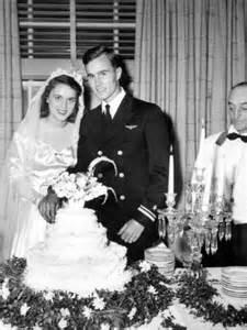 George and Barbara Bush Wedding