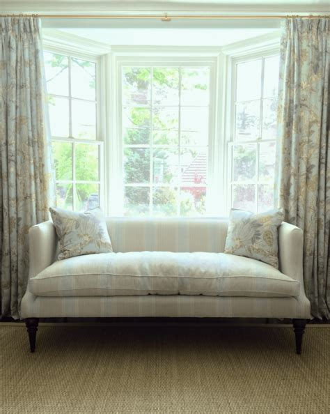 Bay Window Settee by Window Treatments For Difficult Windows What You Must
