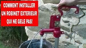 comment installer un robinet exterieur qui ne gele pas With robinet d eau exterieur