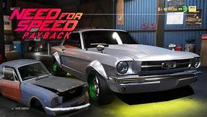 Ford Mustang 1965 Restored - Need for Speed Payback Derilicts - YouTube