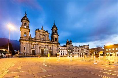 Colombia Square Bogota Town Wallpapers Temple Plaza