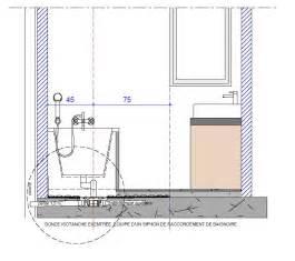 Hauteur Baignoire Norme by Solutions Sols De Douches 171 Handicap Salle De Bain