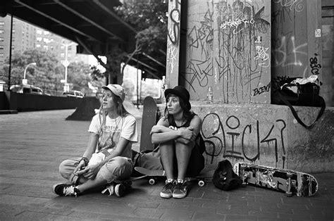 cooler street style london skater girls cooler
