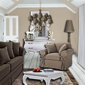 decoration salon couleur lin With couleur pour un salon 1 peinture bleu 12 couleurs bleutees pour repeindre son