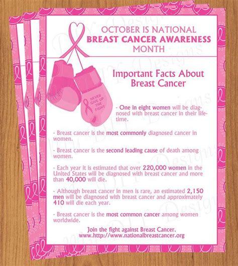 boxing gloves breast cancer flyer  edit