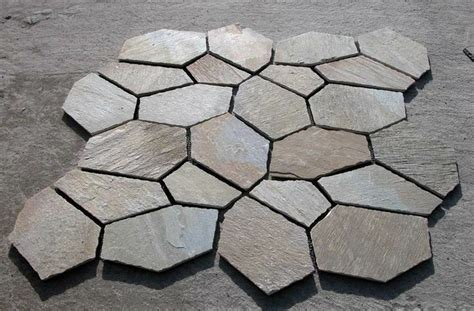 flagstone mat flagstone mat project backyard pinterest