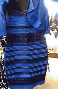 pourquoi personne ne voit cette robe de la meme couleur With la robe qui change de couleur