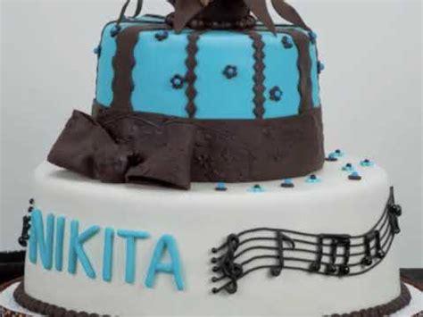 Singer's Birthday Cake Youtube