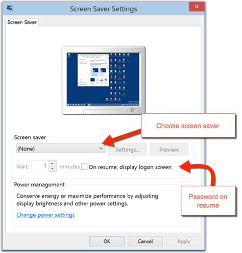 windows 10 screen saver settings solverbase