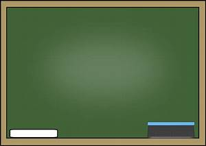 Chalkboard with Chalk and Eraser Clip Art - Chalkboard ...